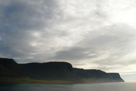 Pot view across Tálknafjörður