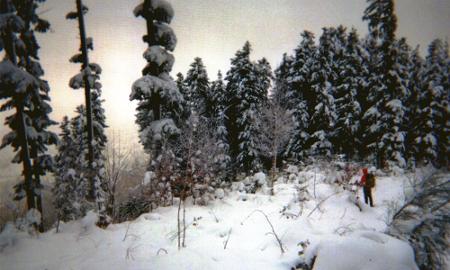 Winter jenseits des Farrenkopfs