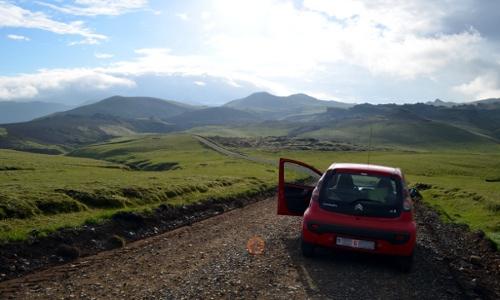 Road to Þakgil